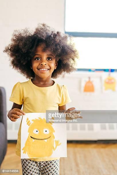 Placer un heureux enfant