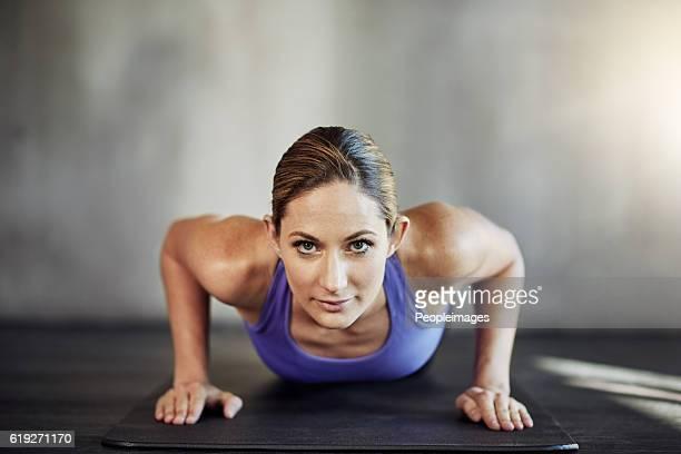 Raising her fitness game