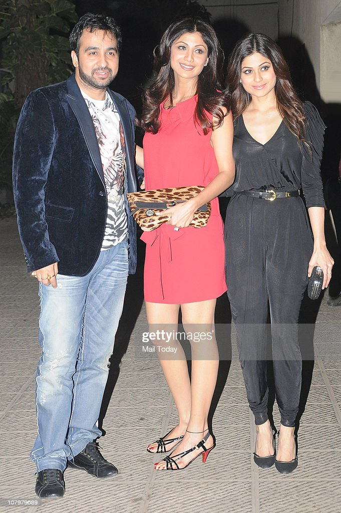 <a gi-track='captionPersonalityLinkClicked' href=/galleries/search?phrase=Raj+Kundra&family=editorial&specificpeople=5294666 ng-click='$event.stopPropagation()'>Raj Kundra</a> with wife <a gi-track='captionPersonalityLinkClicked' href=/galleries/search?phrase=Shilpa+Shetty&family=editorial&specificpeople=565509 ng-click='$event.stopPropagation()'>Shilpa Shetty</a> and <a gi-track='captionPersonalityLinkClicked' href=/galleries/search?phrase=Shamita+Shetty&family=editorial&specificpeople=4280203 ng-click='$event.stopPropagation()'>Shamita Shetty</a> at the birthday party of actor Hrithik Roshan.