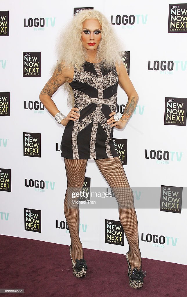 Raja arrives at the Logo NewNowNext Awards 2013 held at The Fonda Theatre on April 13, 2013 in Los Angeles, California.