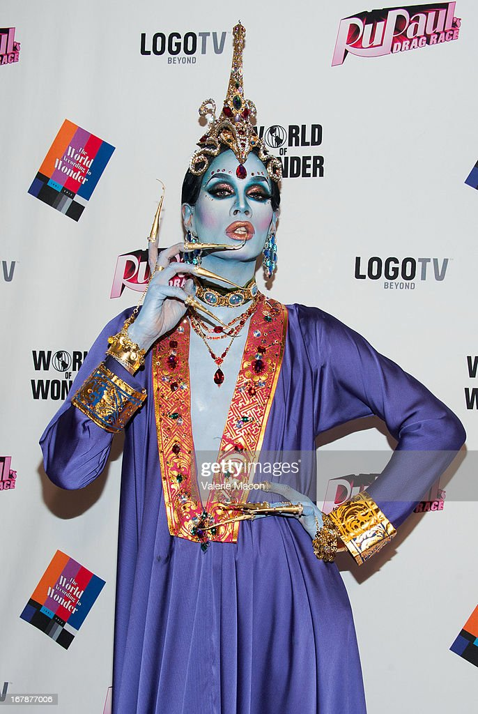 Raja attends the Finale, Reunion & Coronation Taping Of Logo TV's 'RuPaul's Drag Race' Season 5 on May 1, 2013 in North Hollywood, California.