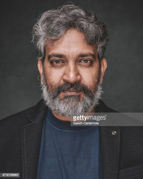 Rajamouli is photographed at a portrait session ahead of the film release of 'Baahubali 2 The Conclusion' at BFI Southbank on May 2 2017 in London...