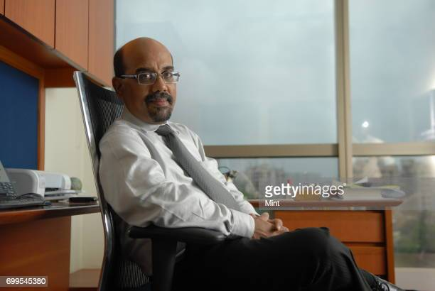 Rajan Krishnan MD of Baroda Pioneer Asset Management Company Ltd photographed during an interview