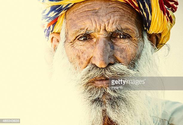 Rajasthan Elderly Man