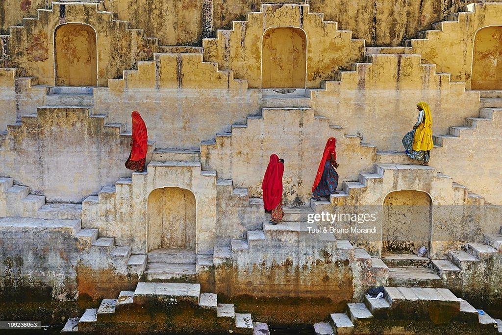 Rajasthan, Jaipur, water tank for rain