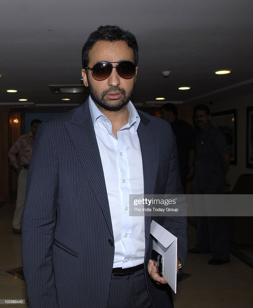 Rajasthan Royals co-owner <a gi-track='captionPersonalityLinkClicked' href=/galleries/search?phrase=Raj+Kundra&family=editorial&specificpeople=5294666 ng-click='$event.stopPropagation()'>Raj Kundra</a> outside BCCI headquarters after the meeting of BCCI office bearers and IPL franchisees in Mumbai on Thursday, June 24, 2010.