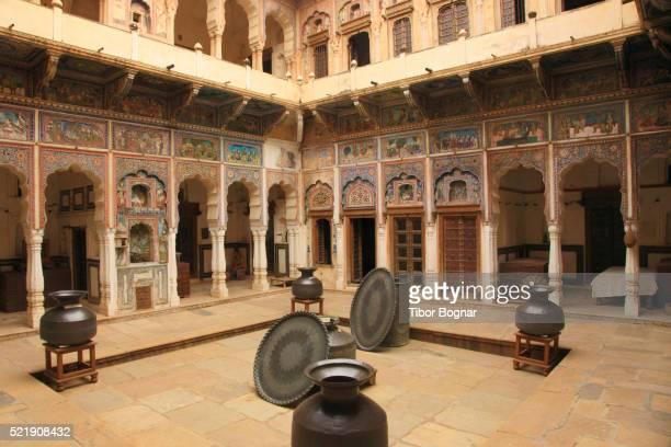 Rajasthan, Shekhawati, Dunlod, Seth Arjun Das Goenka Haveli,