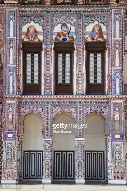 Rajasthan, Shekhawati, Fatehpur, Jagannath Singhania Haveli,