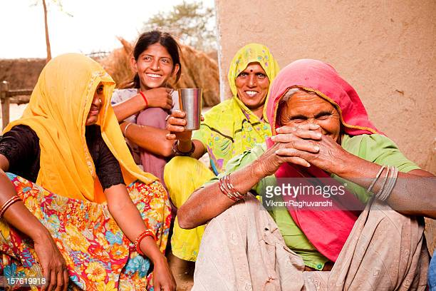 Rajasthan Traditional Rural Indian Family in a village
