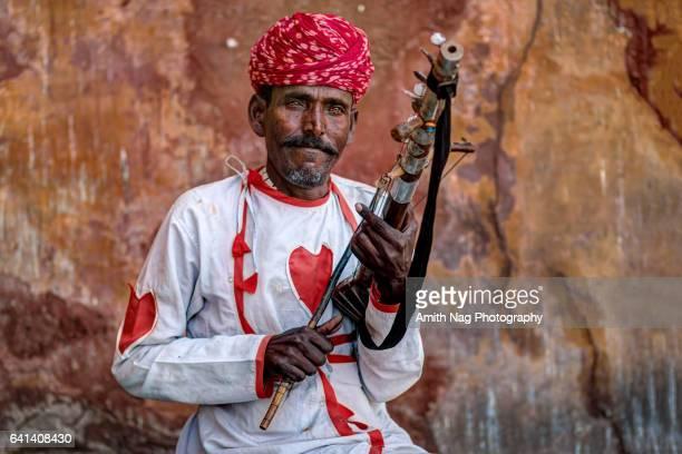 Rajasthani Folk Musician