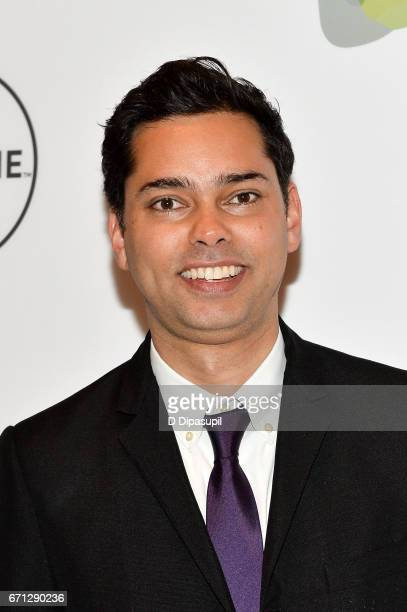 Rajendra Roy attends Variety's Power of Women New York at Cipriani Midtown on April 21 2017 in New York City