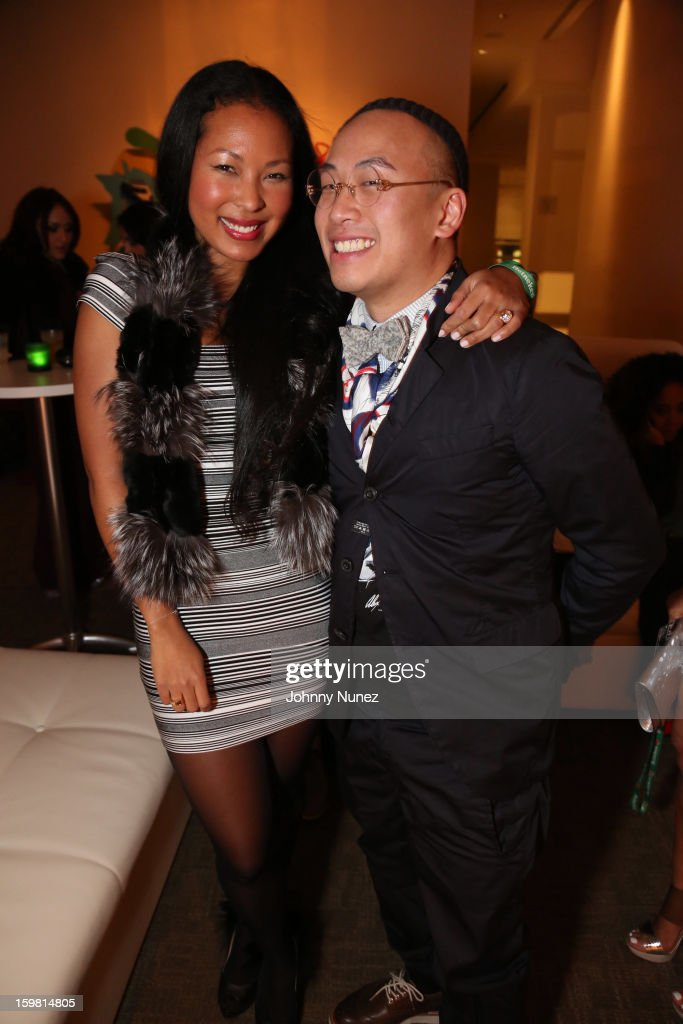Rajiah Williams and Kevin Saer Leong attend The Hip-Hop Inaugural Ball II at Harman Center for the Arts on January 20, 2013 in Washington, DC.