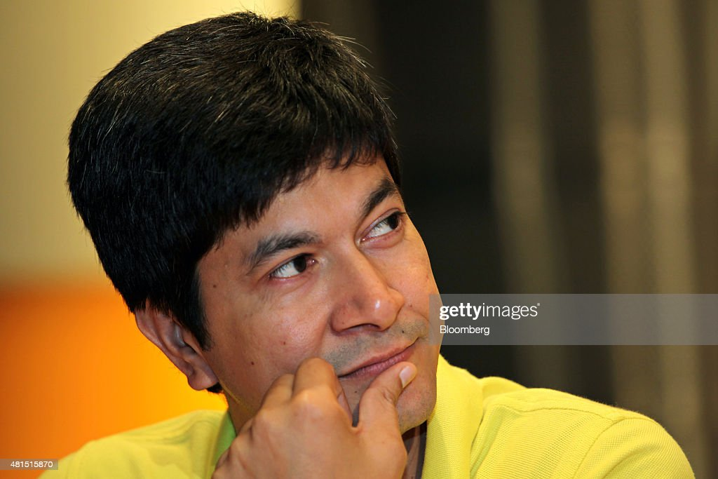 Rajiv Bansal chief financial officer of Infosys Ltd attends a news conference at the company's headquarters in Bengaluru India on Tuesday July 21...