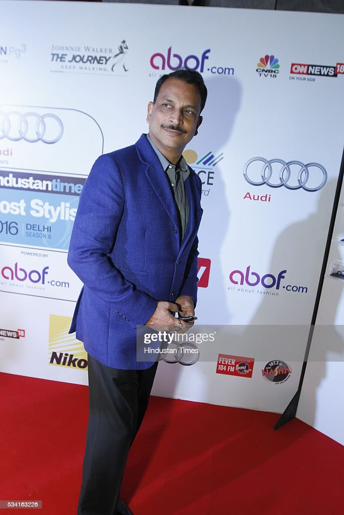 RAjiv Pratap Rudy at Hindustan Times Most Stylish Awards 2016 at hotel JW Marriot, Aerocity on May 24, 2016 in New Delhi, India.
