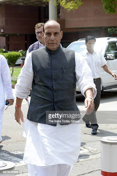Rajnath Singh during all party Meeting at Parliament