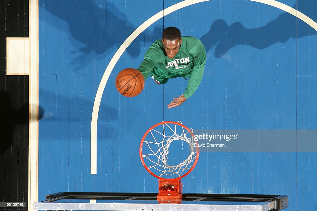 <a gi-track='captionPersonalityLinkClicked' href=/galleries/search?phrase=Rajon+Rondo&family=editorial&specificpeople=206983 ng-click='$event.stopPropagation()'>Rajon Rondo</a> #9 of the Boston Celtics warms up before the game against the Minnesota Timberwolves on November 16, 2013 at Target Center in Minneapolis, Minnesota.