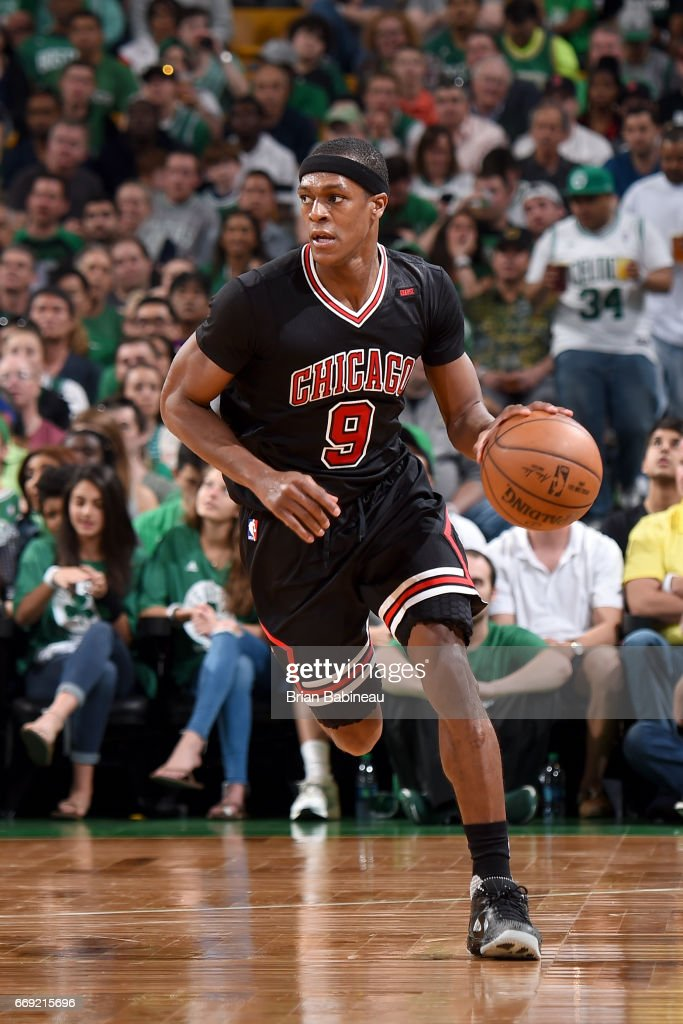 Chicago Bulls v Boston Celtics - Game One