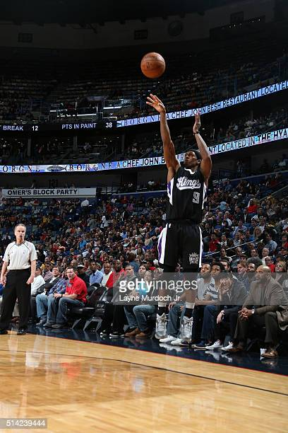 Rajon Rondo of the Sacramento Kings shoots against the New Orleans Pelicans rleans Louisiana NOTE TO USER User expressly acknowledges and agrees that...