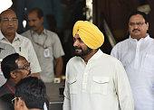 Rajya Sabha MP Navjot Singh Sidhu resigns the Rajya Sabha Seat during the Parliament Monsoon Session on July 18 2016 in New Delhi India A total of 25...