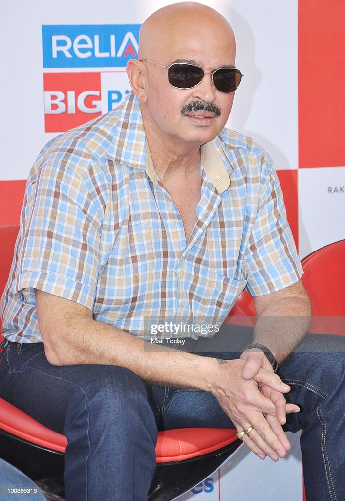 Rakesh Roshan at a promotional event for the film Kites in Mumbai on May 22, 2010.