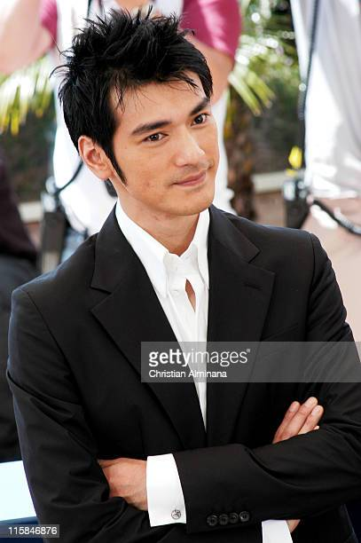 Rakeshi Kaneshiro during 2004 Cannes Film Festival 'House Of Flying Daggers' Photocall at Palais du Festival