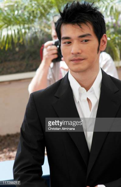Rakeshi Kaneshiro during 2004 Cannes Film Festival House Of Flying Daggers Photocall at Palais du Festival