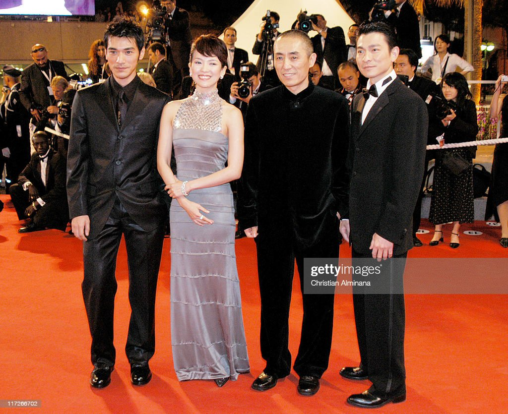 """2004 Cannes Film Festival - """"House Of Flying Daggers"""" - Premiere"""