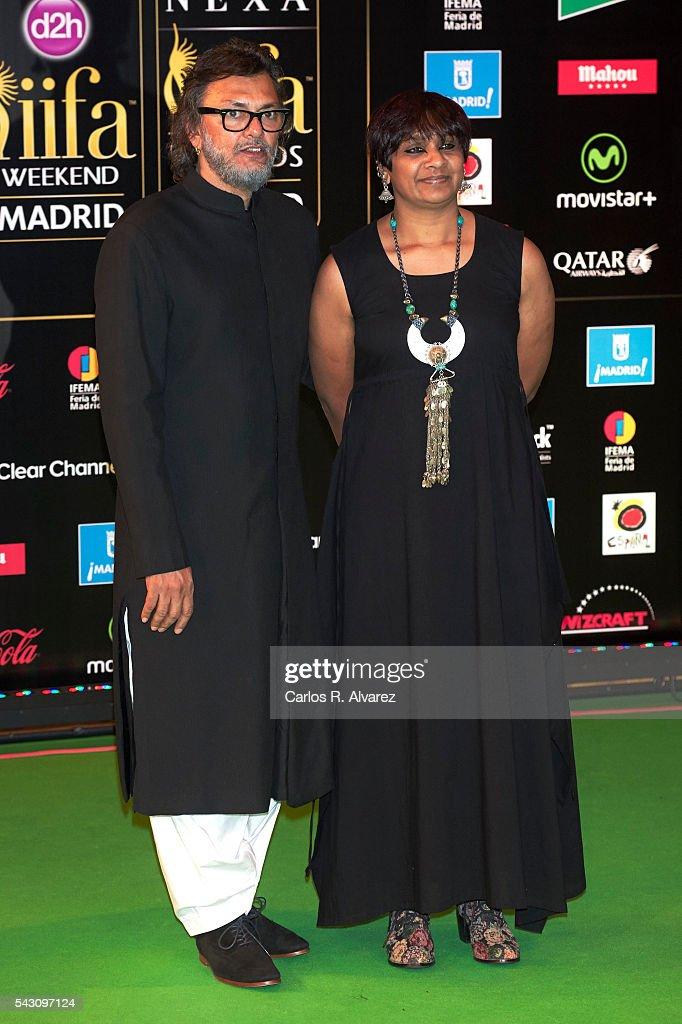 Rakeysh Omprakash Mehra attends the 17th IIFA Awards (International Indian Film Academy Awards) at Ifema on June 25, 2016 in Madrid, Spain.