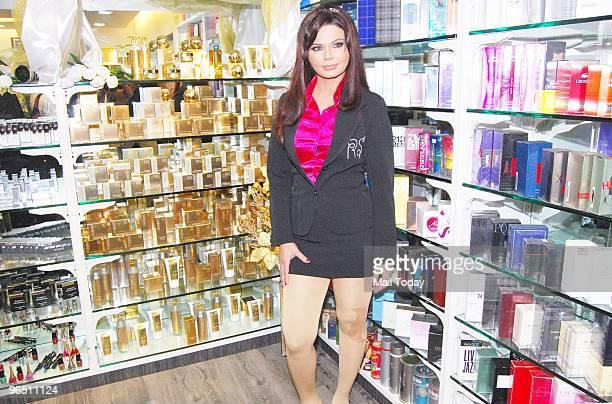 Rakhi Sawant at the opening of her beauty lounge in Mumbai on February 7 2010
