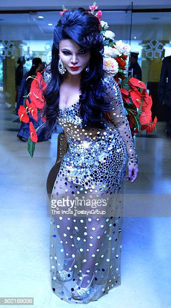 Rakhi Sawant during the launch of 'Party Punjabi Style' DVD in New Delhi
