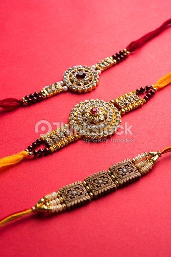Raksha Bandhan Rakhi And Gift With Sweet Kaju Katli Or Mithai And