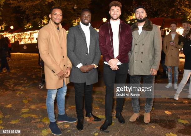 RakSu attend the VIP launch of Hyde Park Winter Wonderland 2017 on November 16 2017 in London England