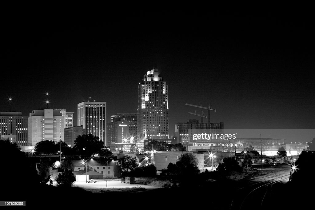Raleigh Lights : Stockfoto