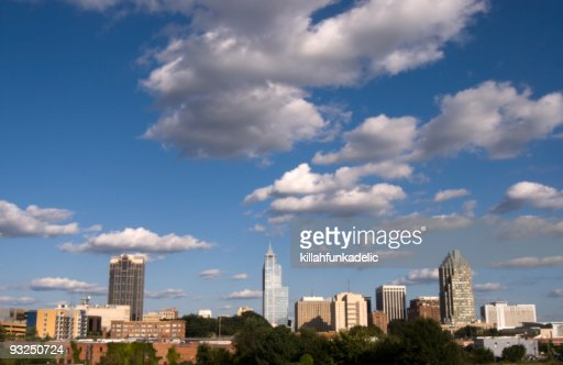 Raleigh North Carolina City Skyline