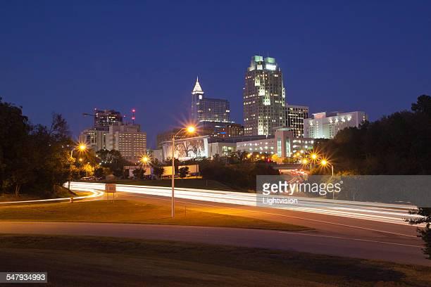 Raleigh, North Carolina Skyline