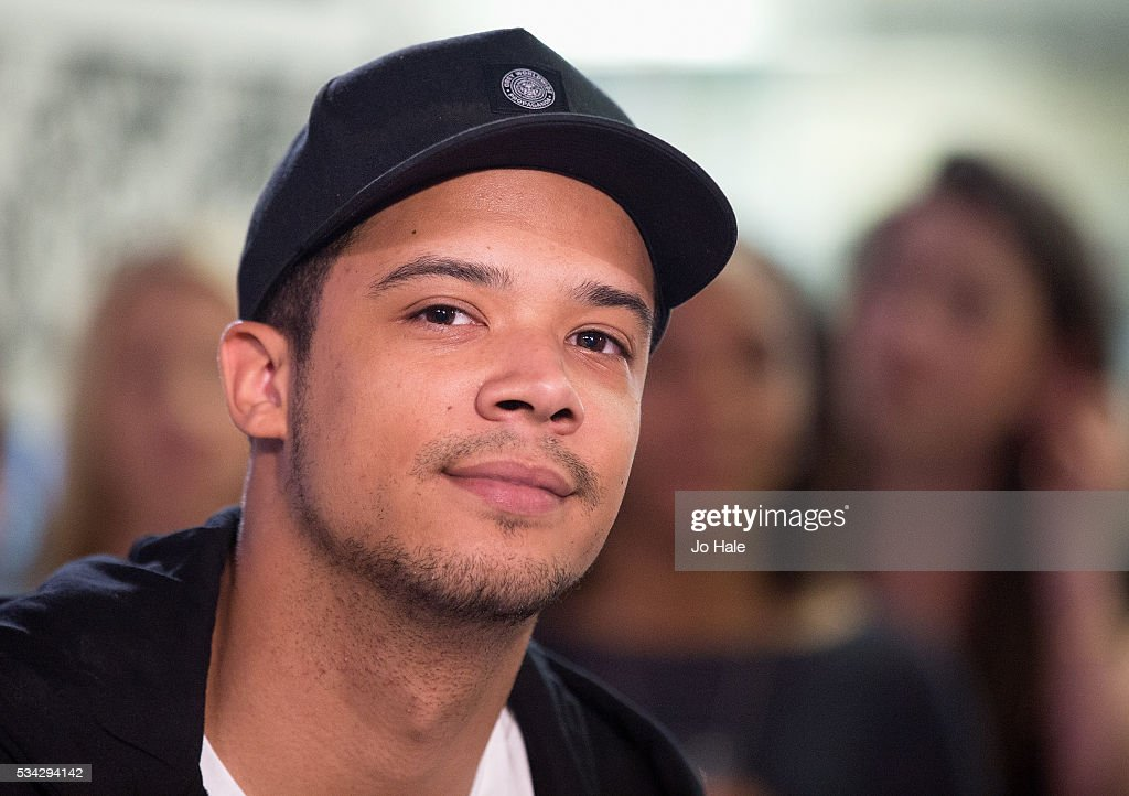 <a gi-track='captionPersonalityLinkClicked' href=/galleries/search?phrase=Raleigh+Ritchie&family=editorial&specificpeople=12491416 ng-click='$event.stopPropagation()'>Raleigh Ritchie</a> on set at The Box Network Channel Relaunch, 24 year history, at Box Plus Network on May 25, 2016 in London, England.