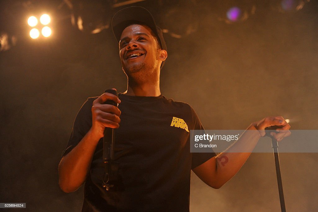 Raleigh Ritchie performs on stage at the O2 Forum Kentish Town on April 28, 2016 in London, England.