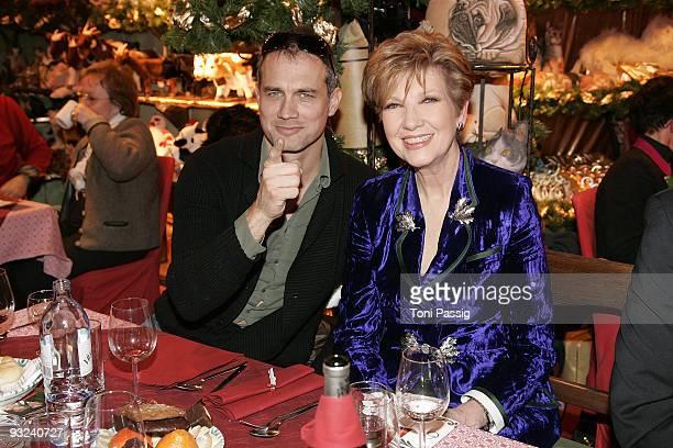 Ralf Bauer and Caroline Reiber attend the Christmas market opening at Gut Aiderbichl on November 19 2009 in Salzburg Austria