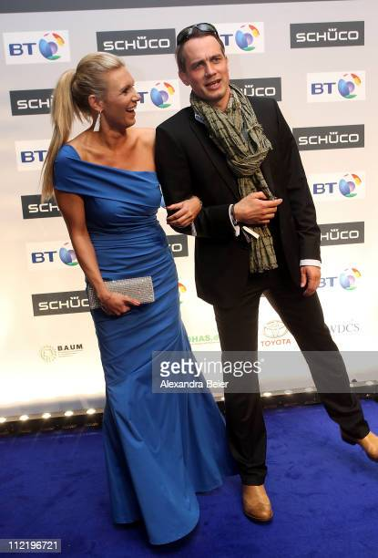 Ralf Bauer and Magdalena Brzeska attend the Success for Future Award 2011 at Bayerischer Hof on April 14 2011 in Munich Germany