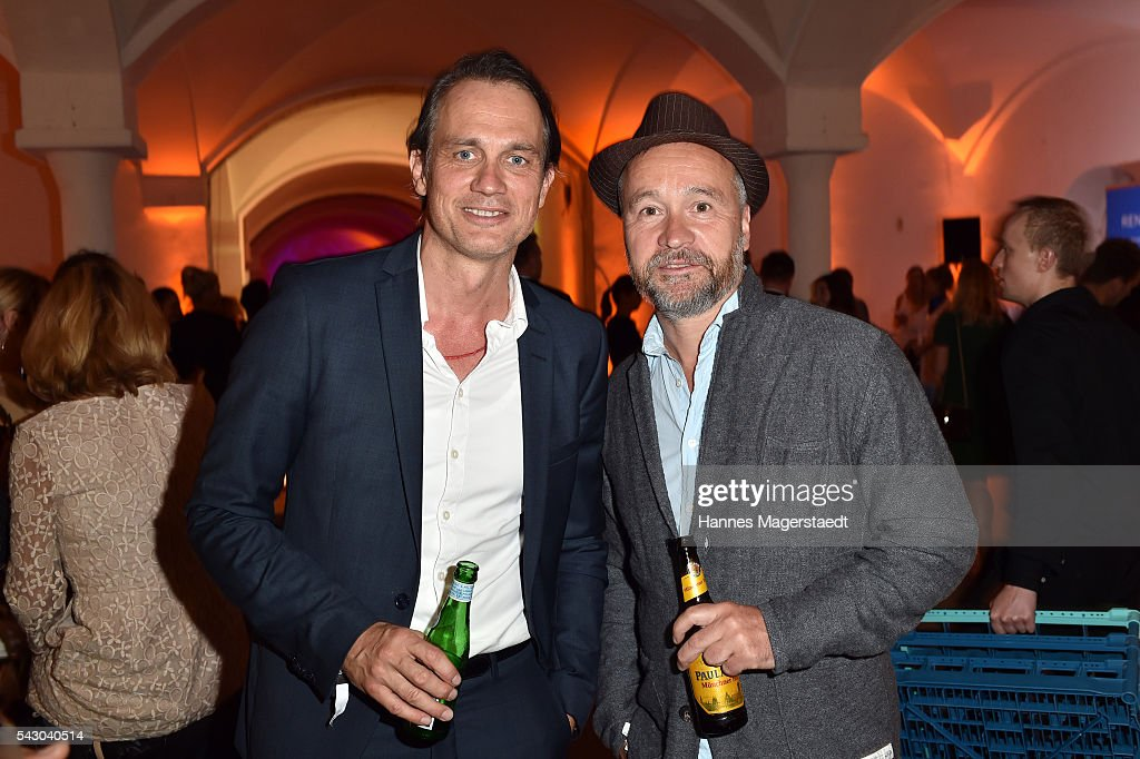 Ralf Bauer and Thomas Darchinger during the Audi Director's Cut during the Munich Film Festival 2016 at Praterinsel on June 25, 2016 in Munich, Germany.