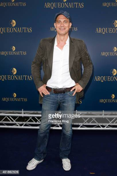 Ralf Bauer attends the Arqueonautas Presents Kevin Costner Music Meets Fashion at Spindler Klatt on July 08 2014 in Berlin Germany