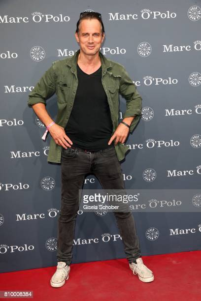 Ralf Bauer during the 50th anniversary celebration of Marc O'Polo at its headquarters on July 6 2017 in Stephanskirchen near Rosenheim Germany