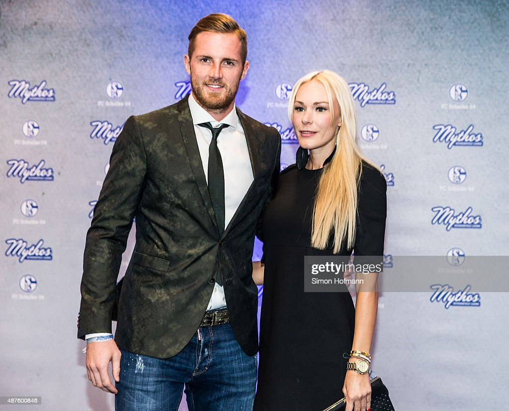 <a gi-track='captionPersonalityLinkClicked' href=/galleries/search?phrase=Ralf+Faehrmann&family=editorial&specificpeople=808591 ng-click='$event.stopPropagation()'>Ralf Faehrmann</a> and his girlfriend Henriette attend the FC Schalke 04 111th Anniversary Gala at Musiktheater im Revier on September 10, 2015 in Gelsenkirchen, Germany.