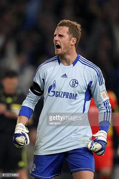 Ralf Fährmann Schalke 04 Fussball Supercup 2011 Schalke 04 gegen Borussia Dortmund Bundesliga Saison 2011 / 2012