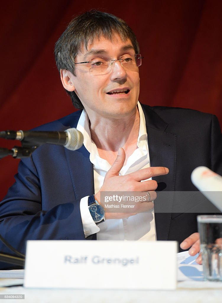 Ralf Grengel during press conference on may 25, 2016 in Berlin, Germany.
