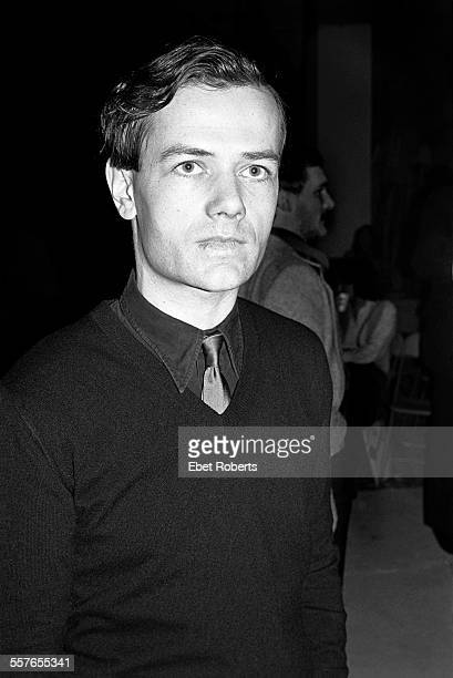 Ralf Hutter of Kraftwerk at a Kraftwerk promotional party for the 'Man Machine' record held in New York City on April 6 1978