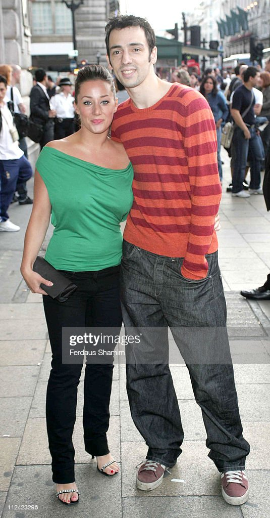 Ralf Little and guest during 'Star Wars Shortened' UK Gala Performance at Criterion Theatre in London Great Britain