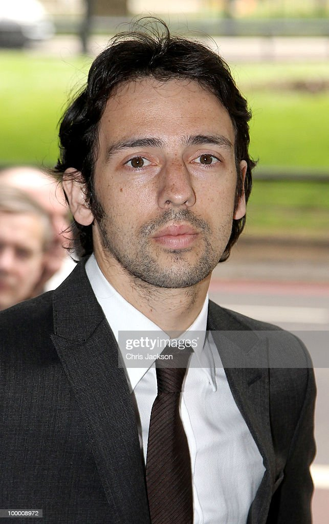 Ralf Little arrives at the Ivor Novello Awards at Grosvenor House on May 20 2010 in London England