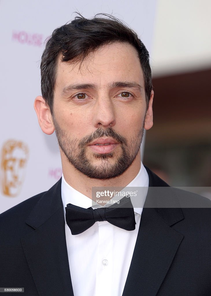 Ralf Little arrives for the House Of Fraser British Academy Television Awards 2016 at the Royal Festival Hall on May 8 2016 in London England