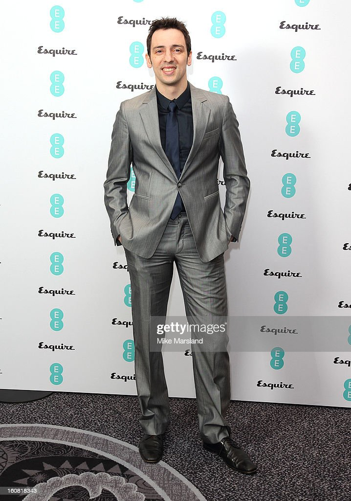 Ralf Little attends the Bafta Rising Stars party hosted by EE and Esquire ahead of the 2013 EE British Academy Film Awards at The Savoy Hotel on...